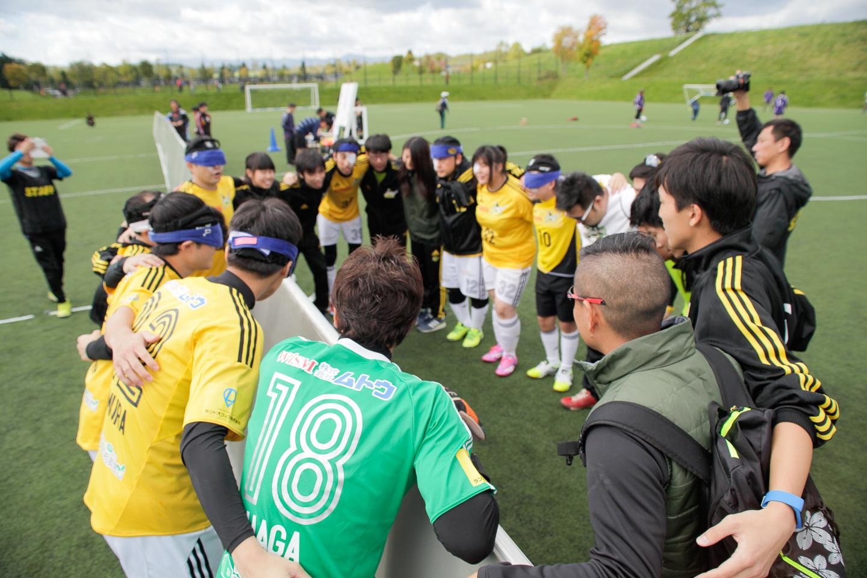 ブラインドサッカー北日本リーグ(第1節/北海道ラウンド)