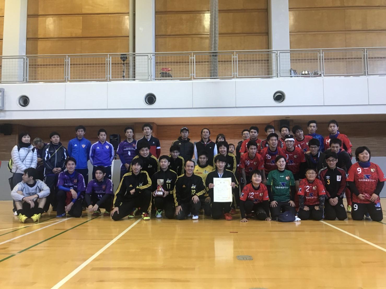 ナマーラ北海道北日本リーグ2017優勝‼︎