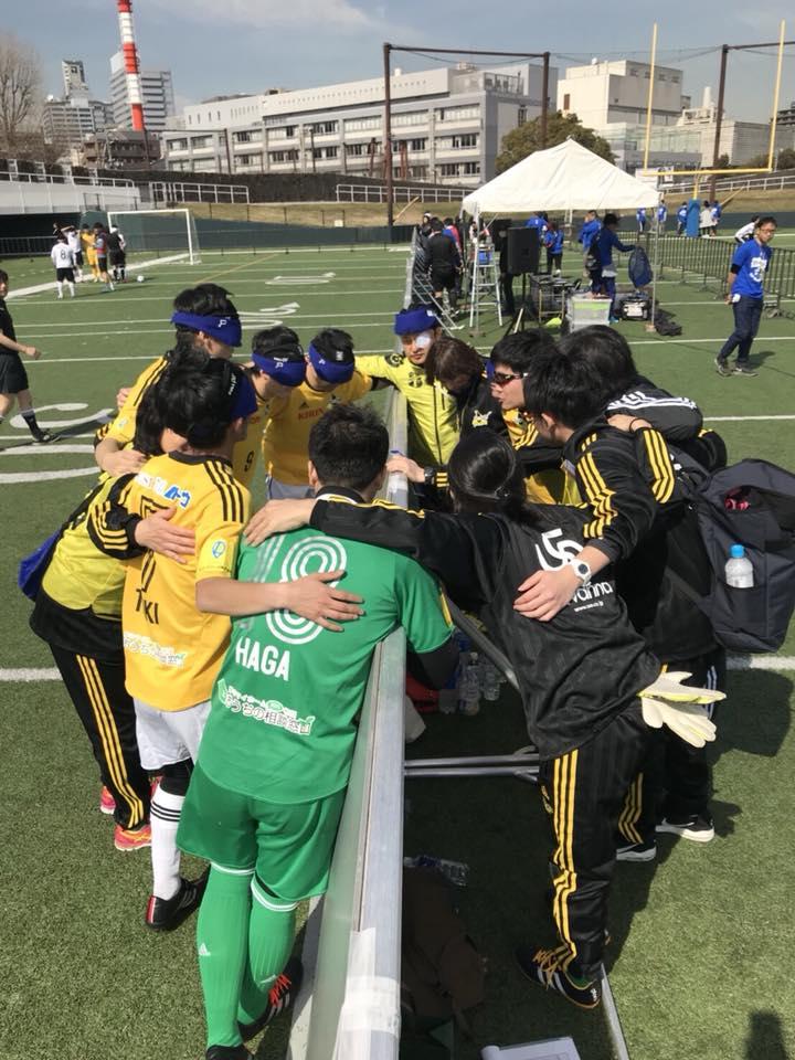 KPMGカップブラインドサッカークラブチーム選手権2018 1日目結果